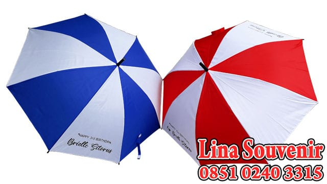 Souvenir Payung Golf